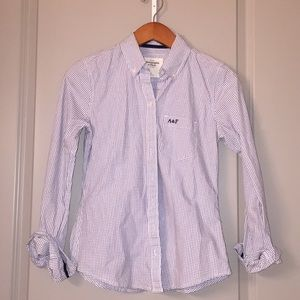 A&F button top Size Small